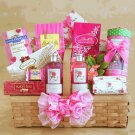 Chocolate Spa Gift Basket