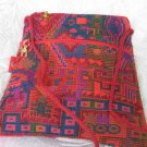 Triangle - Ethnic Red/Black  Pattern Bag Purse Handbag