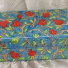 Jewelry Box   Emanuel Wood Hand Painted Medium  'Pomegranates'