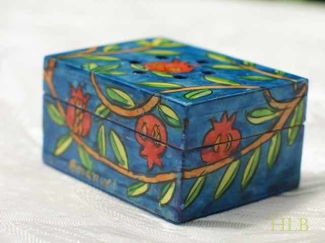 Havdalah Spice Box - Yair Emanuel's  'Pomegranates'