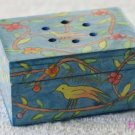 Havdalah Spice Box - Yair Emanuel's  'Bird Pattern''