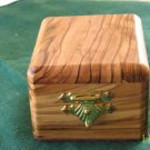 Jewelry Box Olive Wood Keepsake  Medium