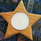 Holy Land Olive Wood Star Candle Holder