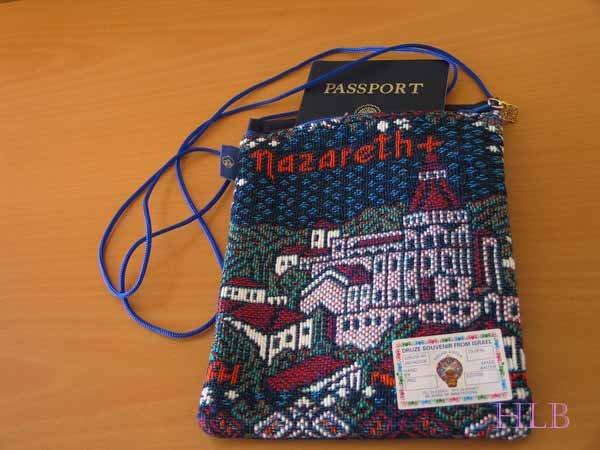 Nazareth Passport / Documents Bag
