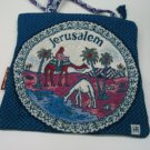 Holy Land Woven Jerusalem Fabric Bag Purse / Tote