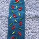 Embroidered Silk Emanuel Bookmark Pomegranate BME2T