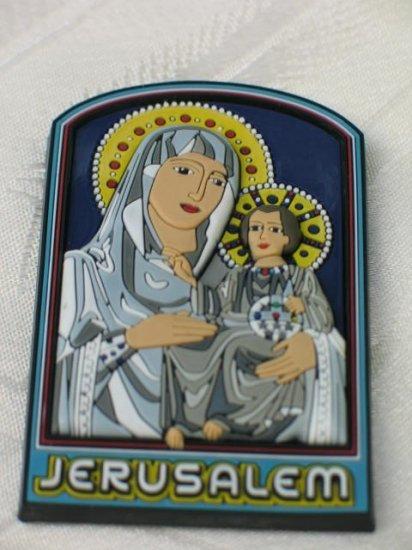 Mother and Child Jerusalem 3D Fridge Magnet