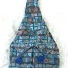 XL Ethnic Woven Backpack 3 Pockets Shoulder Tote Bag U2R