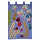 Emanuel Wall Hanging - The Seven Species Blue WXL-4