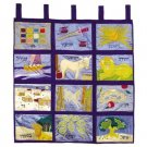 Emanuel Wall Hanging - The Twelve Tribes of Israel WXL-2