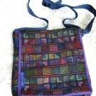 Woven Fabric Men & Women's iPad Tote Handbag Sling U5R