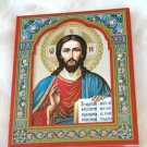 Wall Icon Plaque Wood Picture Jesus