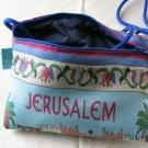 Ethnic Shoulder Clutch Handbag Purse Padded Jerusalem