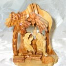 Medium Olive Wood Nativity Scene from Bethlehem I