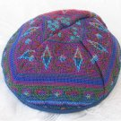 Ethnic Fabric Druze Woven Kippa Kippot Judaica Israel M6