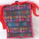 Woven Fabric Men & Women's iPad Tote Handbag Sling U3R
