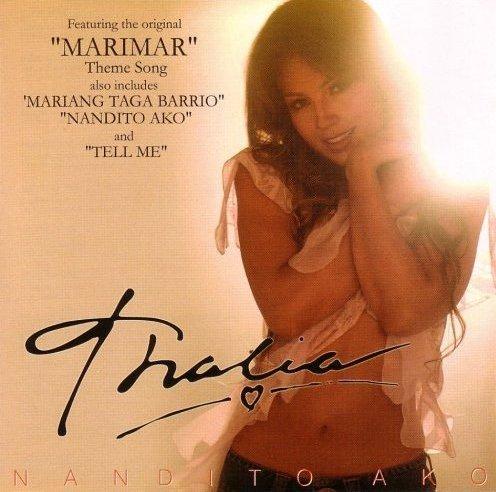 Thalia Nandito Ako Philippines CD NEW