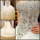 2013 Bridal Wedding Gown bandage tube top wedding dress