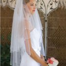 Custom Made Beaded Wedding Bridal Veil