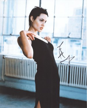 Angelina Jolie Autographed Original Hand Signed 8x10 Photo