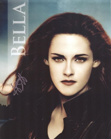 Kristen Stewart Autographed Original Hand Signed 8x10 Twilight Photo