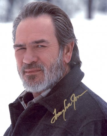 Tommy Lee Jones Autographed Original Hand Signed 8x10 Photo