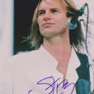 "Sting ""The Police"" Autographed Original Hand Signed 8x10 Photo"