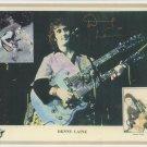 Denny Laine Original Hand Signed 8x10 Autographed Photo Paul McCartney Wings