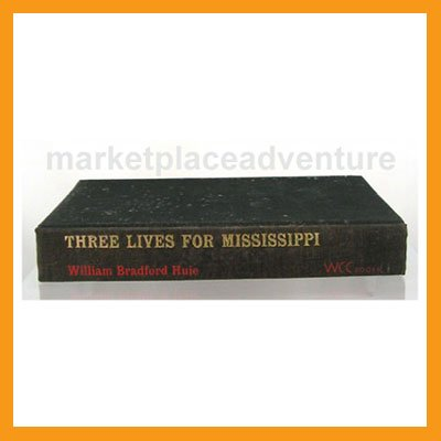 Three Lives for Mississippi William Bradford Huie (1965) 1st Edition Book Books