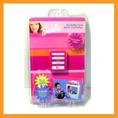 Barbie Favorite Hits Karaoke Cam Music Cartridges New in Package