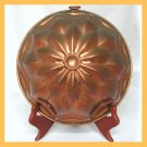 Vintage Copper Mold Star Burst Motif Rolled Edges FS
