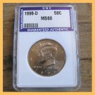 1996-D Kennedy Half Dollar Coin 50¢ Halves Denver