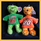 Team Speed Bears Stewart #20 Labonte #18 NASCAR NWT NEW