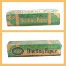 Rare Vintage 1940's KVP Dusting Paper Unopened Box