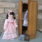 HOUSE OF LLOYD Vintage 1990 DOLL For All Seasons CLOTHES CABINET STOCK NO 120157