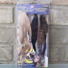 Snap on 2 Pack Instant Feather Hair Extension AS SEEN ON TV Purple NIP FREE Ship