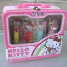 Hello Kitty Collectible Pez Candy Tin Lunchbox Case New SEALED MINT FREE Ship