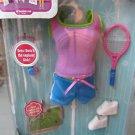 Dora's Explorer Girls Sport Styles Mattel Nickelodeon 5+ Tennis Outfit FREE Ship