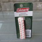 Coleman Glower Survival Bracelet Pink White Whistle 9-10' Nylon Cord FREE Ship