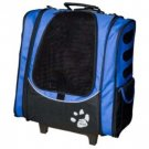 Pet Gear IG02 Escort LAVENDER Rolling Airline Approved Pet Carrier FREE SHIPPING