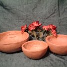 PAPER MACHE NESTING BOWL SET LARGE  ~ READY TO PAINT