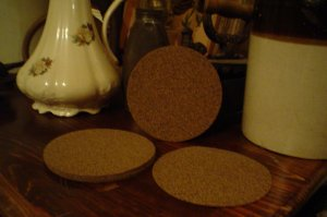 WHOLESALE LOT OF 10 CORK ROUNDS