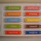 School Activity Word Plates - Elements
