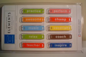 School Activity Word Plates - Elements