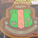 College Greek Fraternity/Sorority Oak and Walnut Plaques for Paddle - Not Known