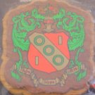 College Greek Fraternity/Sorority Oak and Walnut Plaques for Paddle - ALPHA GAMMA DELTA