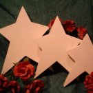 PAPER MACHE LARGE VANILLA SHOOTING STAR BOXES~READY TO PAINT
