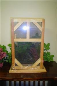 PRIMITIVE UNFINISHED WOOD SCREEN DOOR SPICE CABINET~READY TO PAINT