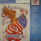God Bless America Embroidery Kit