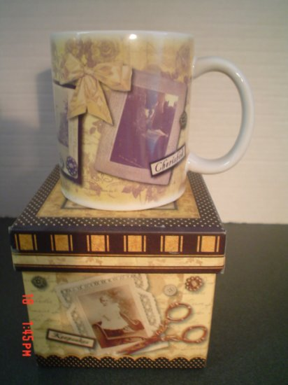 Cherished Keepsakes Mug by Revelations - Scrapbooker Mug